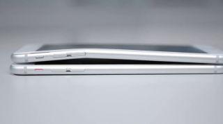 Ein verbogenes iPhone 6 (Quelle: Computerbild.de)
