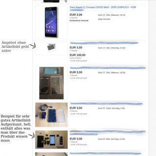 Beispielbild fuer Bild-Wirkweise verschiedener Angebote